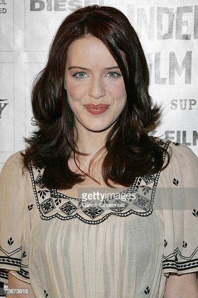 Actress Michelle Ryan attends The British Independent Film Awards at the Hammersmith Palais on November 29 2006 in London England