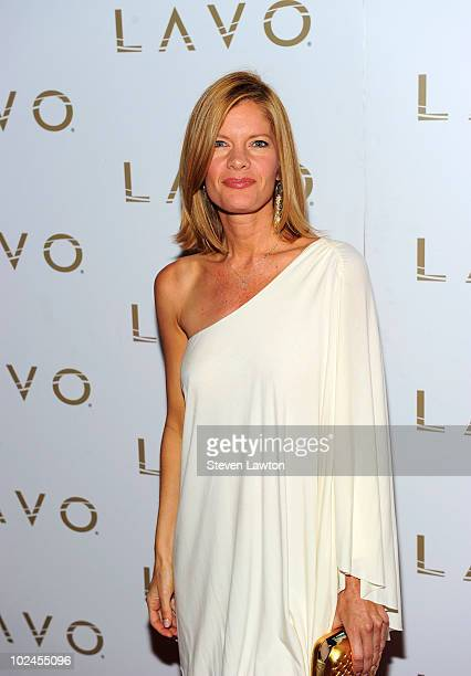 Actress Michelle Stafford arrives to host Daytime Emmys preparty at Lavo on June 26 2010 in Las Vegas Nevada