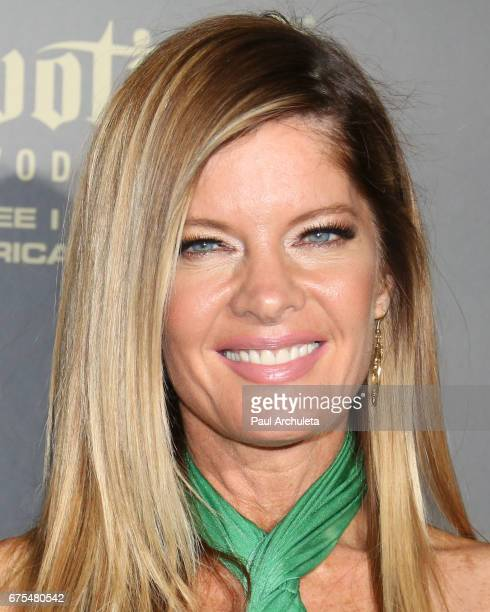 Actress Michelle Stafford attends the press room for the 44th annual Daytime Emmy Awards at Pasadena Civic Auditorium on April 30 2017 in Pasadena...
