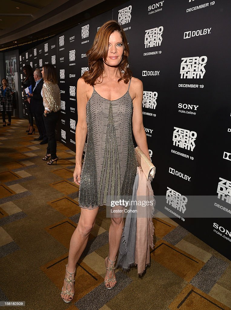 Actress Michelle Stafford attends the 'Zero Dark Thirty' Los Angeles Premiere at Dolby Theatre on December 10, 2012 in Hollywood, California.