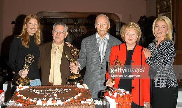 Actress Michelle Stafford series producer Jack Smith series cocreator William Bell Sr series cocreator Lee Phillip Bell and actress Melody Thomas...