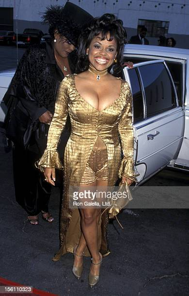 Actress Michelle Thomas attends the 11th Annual Soul Train Music Awards on March 7 1997 at the Shrine Auditorium in Los Angeles California
