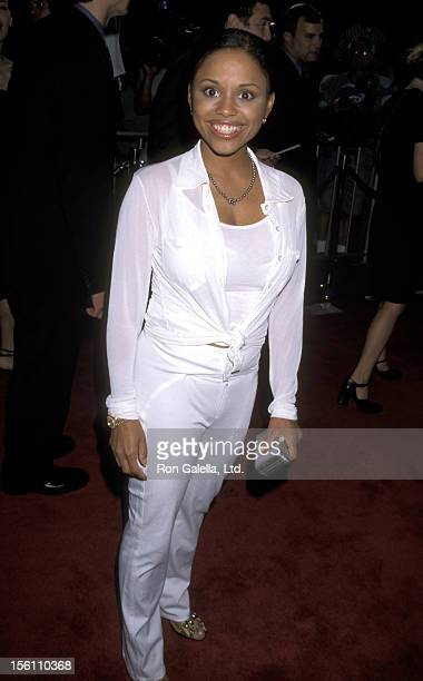 Actress Michelle Thomas attends the LA Premiere of 'Blade' on August 20 1998 at Mann's Chinese Theater in Hollywood California