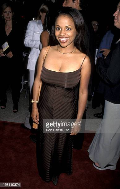 Actress Michelle Thomas attends the LA Premiere of 'Why Do Fools Fall In Love' on August 26 1998 at the Cineplex Odeon Theater in Century City...