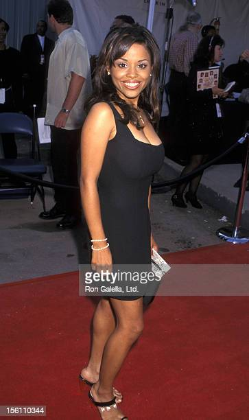 Actress Michelle Thomas attends the Soul Train 'Lady of Soul' Awards on September 5 1997 at the Santa Monica Civic Auditorium in Santa Monica...