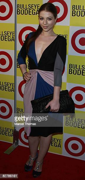 Actress Michelle Trachenberg attends the opening night party for Target Bullseye Bodegas at 101 57th Street on September 10 2008 in New York City