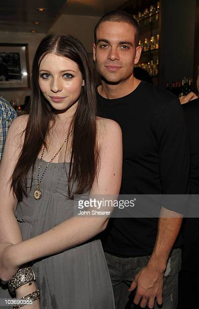 Actress Michelle Trachtenberg and actor Mark Salling attend the 2010 Entertainment Weekly and Women In Film PreEmmy party sponsored by L'Oreal Paris...