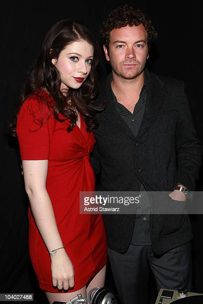 Actress Michelle Trachtenberg and Danny Masterson attend the Rebecca Minkoff at MBFW Spring 2011 fashion show at The Box at Lincoln Center on...