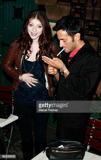 Actress Michelle Trachtenberg and designer Marc Jacobs visits Ye Waverly Inn resturant on March 29 2008 in New York City