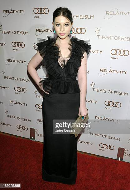 Actress Michelle Trachtenberg arrives at Audi presents The Art of Elysium's 5th annual HEAVEN at Union Station on January 14 2012 in Los Angeles...