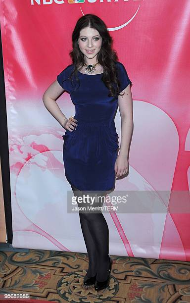Actress Michelle Trachtenberg arrives at NBC Universal's Press Tour Cocktail Party at Langham Hotel on January 10 2010 in Pasadena California
