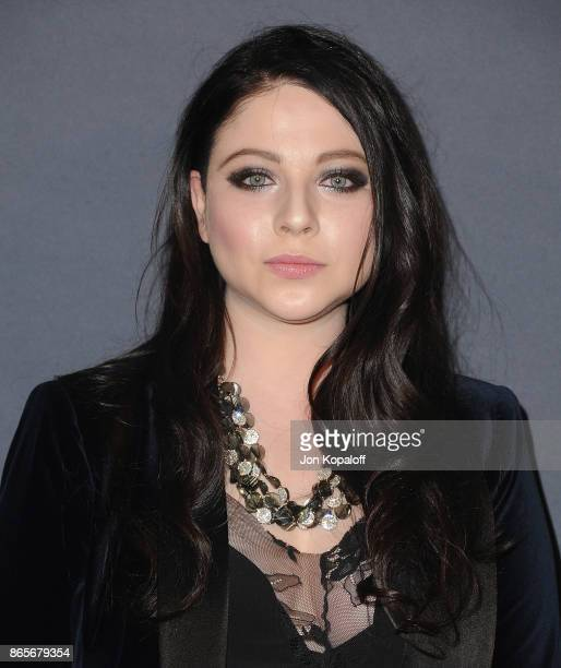 Actress Michelle Trachtenberg Arrives At The 3rd Annual Instyle Awards At The Getty Center On October