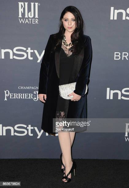 Actress Michelle Trachtenberg arrives at the 3rd Annual InStyle Awards at The Getty Center on October 23 2017 in Los Angeles California
