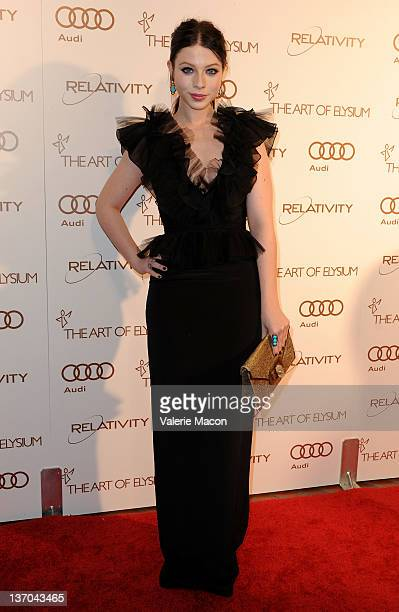 Actress Michelle Trachtenberg arrives at The Art Of Elysium's 5th Annual Heaven Gala on January 14 2012 in Los Angeles California