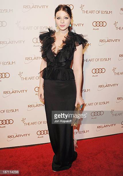 Actress Michelle Trachtenberg arrives at the Art Of Elysium's 5th Annual Heaven Gala at Union Station on January 14, 2012 in Los Angeles, California.