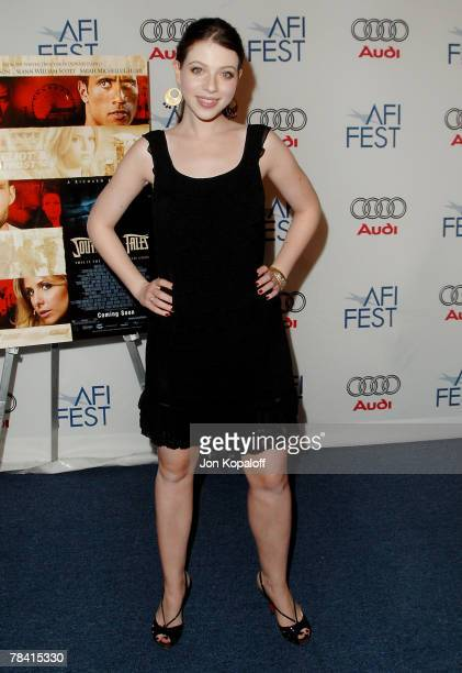 Actress Michelle Trachtenberg arrives at the Los Angeles premiere of Southland Tales presented by AFI FEST 2007 at the ArcLight Theater on November 2...