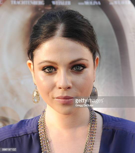 """Actress Michelle Trachtenberg arrives at the premiere of Lifetime's """"Sister Cities"""" at Paramount Theatre on August 31, 2016 in Hollywood, California."""