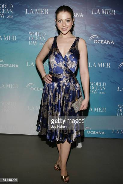 Actress Michelle Trachtenberg attends the 2008 World Ocean Day hosted by La Mer and Oceana on June 4 2008 at Rockefeller Center in New York