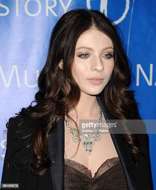 Actress Michelle Trachtenberg attends the 2010 AMNH Museum Dance at the American Museum of Natural History on April 15 2010 in New York City