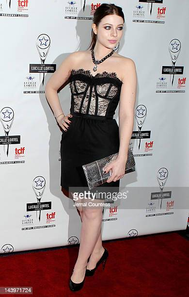 Actress Michelle Trachtenberg attends the 27th Annual Lucille Lortel Awards at NYU Skirball Center on May 6 2012 in New York City