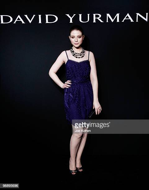 Actress Michelle Trachtenberg attends the 30th Anniversary celebration cocktail reception with Rebirth of NYC Flagship hosted by David Yurman and in...
