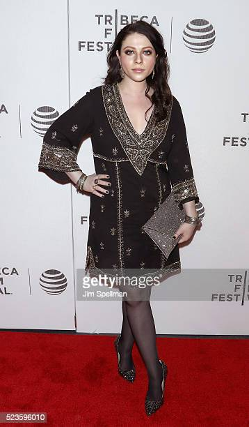 "Actress Michelle Trachtenberg attends the ""Geezer"" premiere during the 2016 Tribeca Film Festival at Spring Studios on April 23, 2016 in New York..."