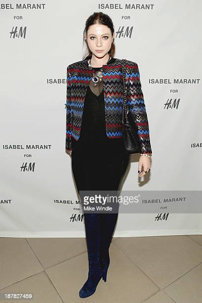 Actress Michelle Trachtenberg attends the HM Isabel Marant VIP Pre Shop Event at HM on November 12 2013 in West Hollywood California