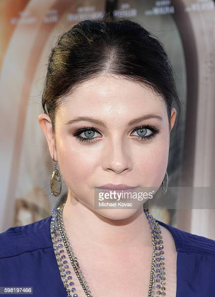 Actress Michelle Trachtenberg attends the Los Angeles screening of Lifetime's 'Sister Cities' at Paramount Theatre on August 31 2016 in Hollywood...