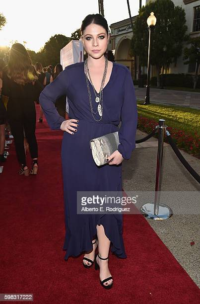 Actress Michelle Trachtenberg attends the premiere of Lifetime's Sister Cities at Paramount Theatre on August 31 2016 in Hollywood California