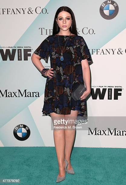 Actress Michelle Trachtenberg attends the Women in Film 2015 Crystal Lucy Awards at the Hyatt Regency Century Plaza Hotel on June 16 2015 in Los...
