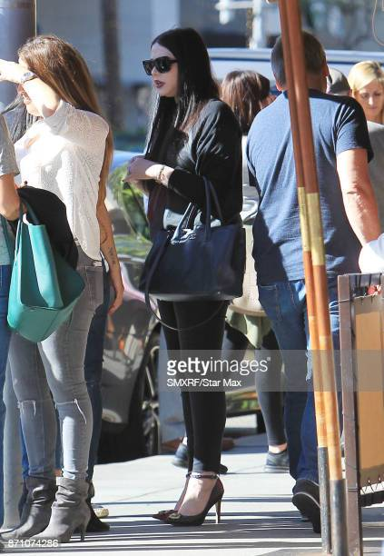 Actress Michelle Trachtenberg is seen on November 6 2017 in Los Angeles CA