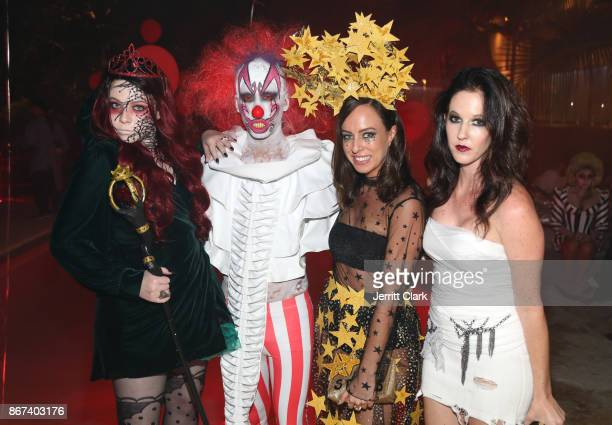 Actress Michelle Trachtenberg Jared Eng and guests attend Just Jared's 6th Annual Halloween Party on October 27 2017 in Beverly Hills California