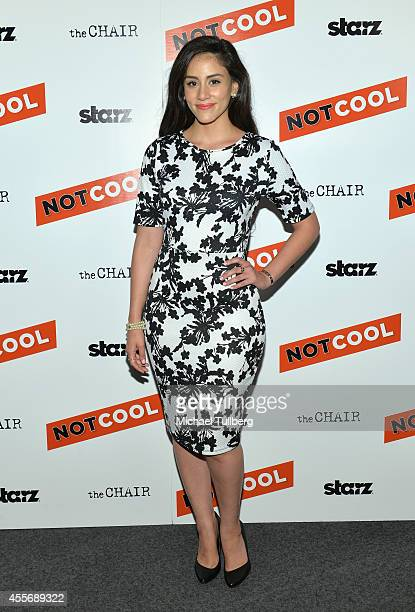 Actress Michelle Veintimilla attends the premiere of Starz Digital Media's film Not Cool at the Landmark Theater on September 18 2014 in Los Angeles...