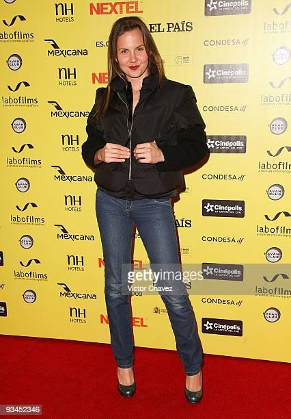 Actress Michelle Vieth attends the Muestra de Cine Español EsCine 2nd Edition by Nextel at Cinepolis Diana on November 26 2009 in Mexico City Mexico