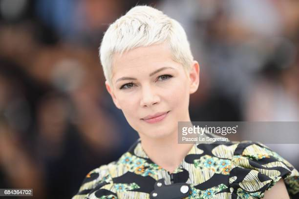 Actress Michelle William attends 'Wonderstruck' Photocall during the 70th annual Cannes Film Festival at Palais des Festivals on May 18 2017 in...