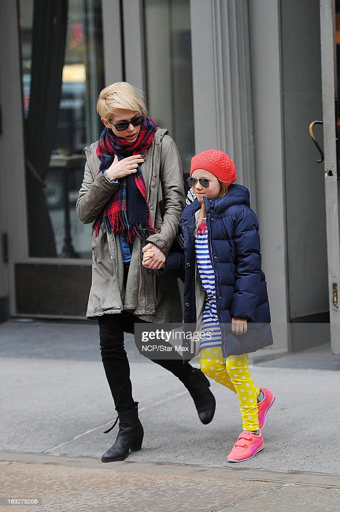 Celebrity Sightings In New York City - March 6, 2013