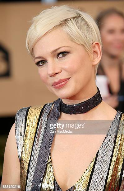 Actress Michelle Williams arrives at the 23rd Annual Screen Actors Guild Awards at The Shrine Expo Hall on January 29 2017 in Los Angeles California