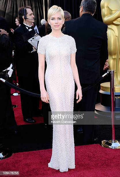 Actress Michelle Williams arrives at the 83rd Annual Academy Awards held at the Kodak Theatre on February 27 2011 in Hollywood California