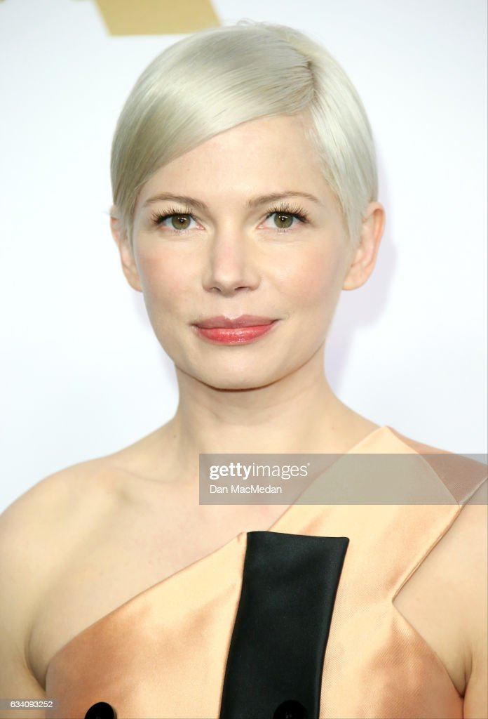 Actress Michelle Williams arrives at the 89th Annual Academy Awards Nominee Luncheon at The Beverly Hilton Hotel on February 6, 2017 in Beverly Hills, California.
