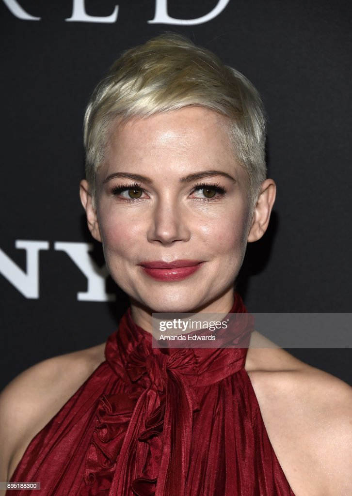 Actress Michelle Williams arrives at the premiere of Sony Pictures Entertainment's 'All The Money In The World' at the Samuel Goldwyn Theater on December 18, 2017 in Beverly Hills, California.