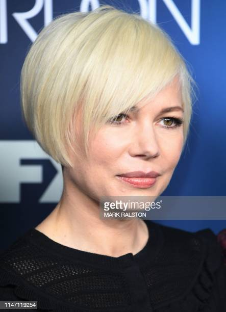 US actress Michelle Williams arrives for the FYC red carpet event of Fox21 TV Studios FX's Fosse/Verdon at the Samuel Goldwyn Theater in Beverly...