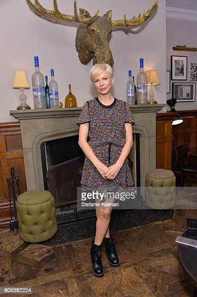 Actress Michelle Williams at the Manchester By The Sea TIFF party hosted by GREY GOOSE Vodka and Soho House Toronto on September 13 2016 in Toronto...