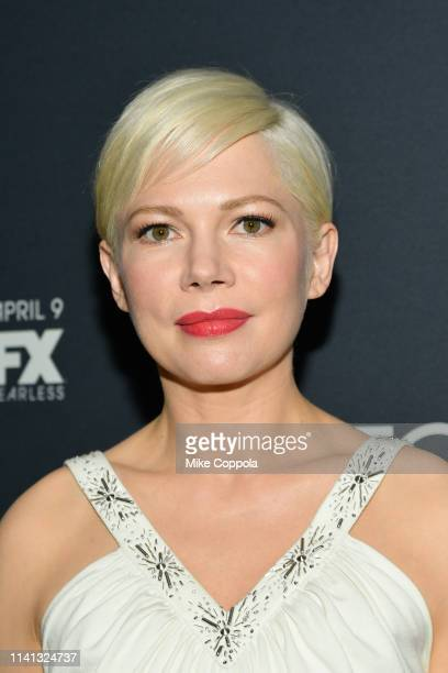 Actress Michelle Williams attends FX's Fosse/Verdon New York Premiere on April 08 2019 in New York City