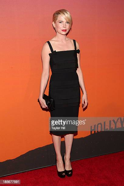 Actress Michelle Williams attends the 2013 Whitney Gala and Studio party at Skylight at Moynihan Station on October 23, 2013 in New York City.