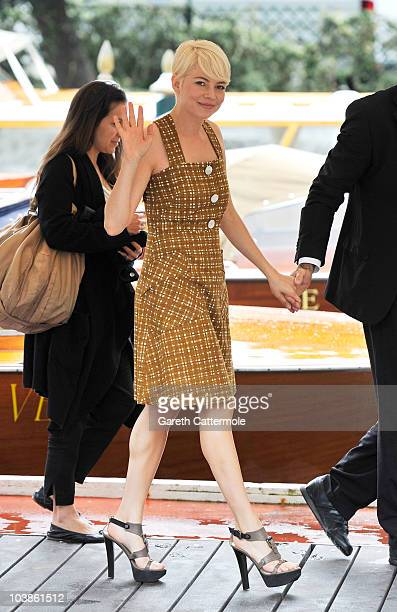 Actress Michelle Williams attends the 67th Venice Film Festival on September 6 2010 in Venice Italy