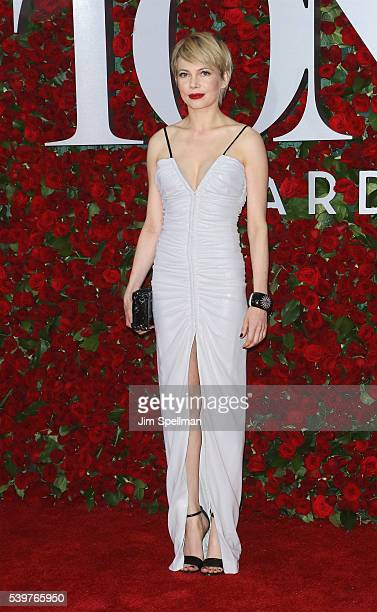 Actress Michelle Williams attends the 70th Annual Tony Awards at Beacon Theatre on June 12 2016 in New York City
