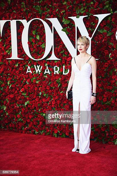 Actress Michelle Williams attends the 70th Annual Tony Awards at The Beacon Theatre on June 12 2016 in New York City