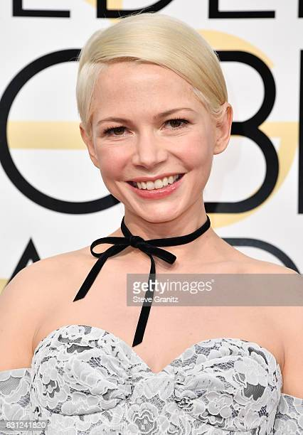 Actress Michelle Williams attends the 74th Annual Golden Globe Awards at The Beverly Hilton Hotel on January 8 2017 in Beverly Hills California