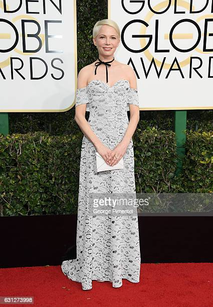 Actress Michelle Williams attends the 74th Annual Golden Globe Awards held at The Beverly Hilton Hotel on January 8 2017 in Beverly Hills California