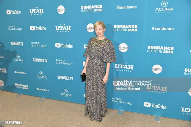 """Actress Michelle Williams attends the """"After the Wedding"""" Premiere during the 2019 Sundance Film Festival at Eccles Center Theatre on January 25,..."""